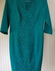 Petite Teal Dress